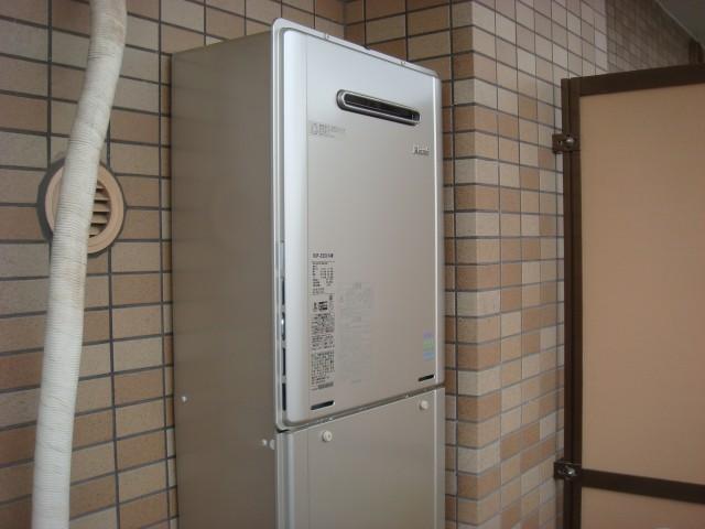 ガス給湯器取替工事 名古屋市東区