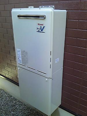 三重県 津市 ガス給湯器取替工事