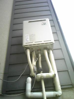 三重県 四日市市 ガス給湯器取替工事