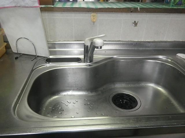 名古屋市北区 S様邸 キッチン水栓補修工事