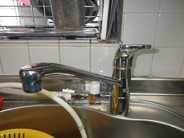 名古屋市中村区 A様邸 水栓取替工事
