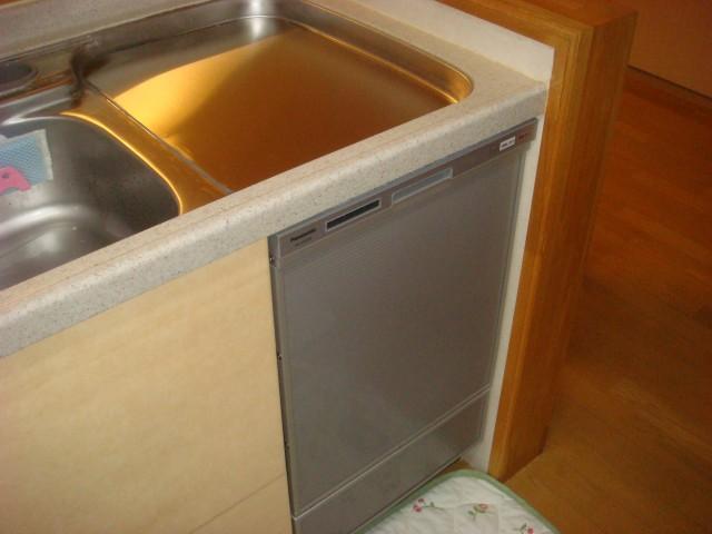 トップオープン食洗機取替工事 名古屋市守山区