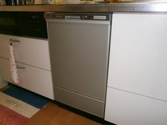 ビルトイン食洗機新規取付工事 一宮市