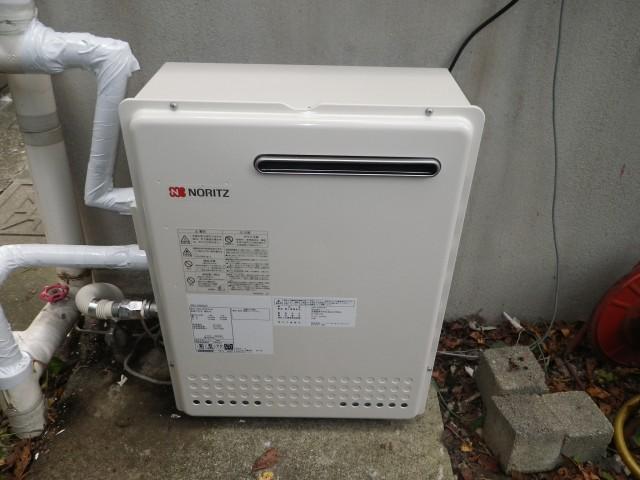 ガス給湯器 交換工事 名古屋市守山区