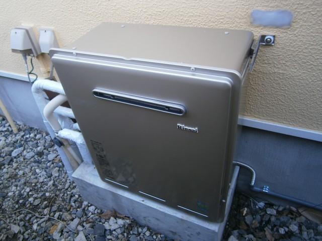 岡崎市 ガス給湯器 交換工事