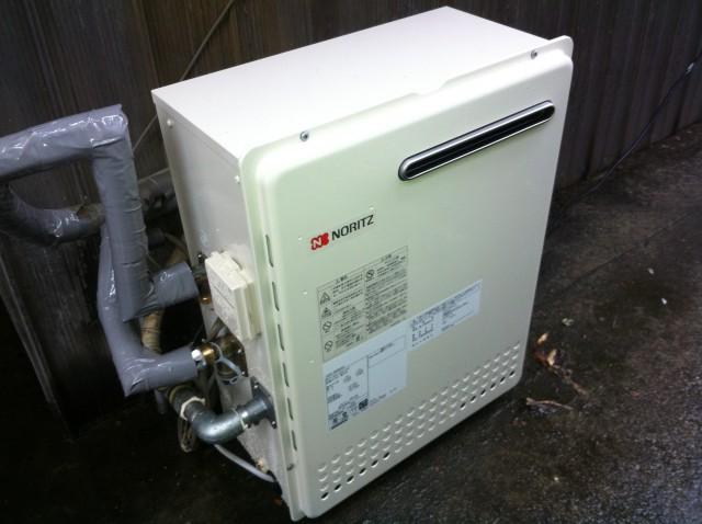半田市 ガス給湯器 交換工事