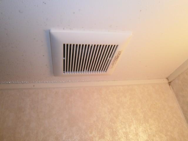 浴室換気扇 取替工事