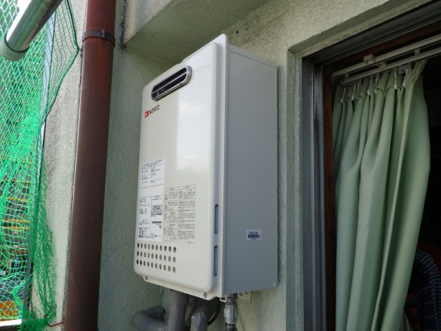 名古屋市中村区 給湯器 交換工事