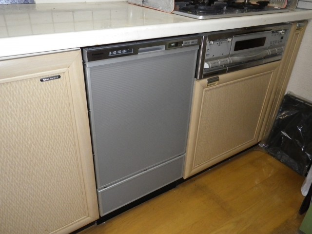 名古屋市緑区 ビルトイン食洗機取替工事