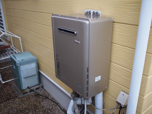 多治見市 ガス給湯器 交換工事
