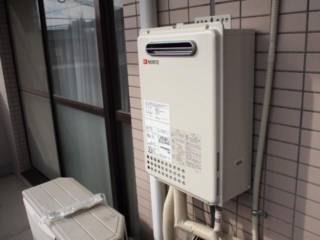 名古屋市千種区 ガス給湯器 交換工事
