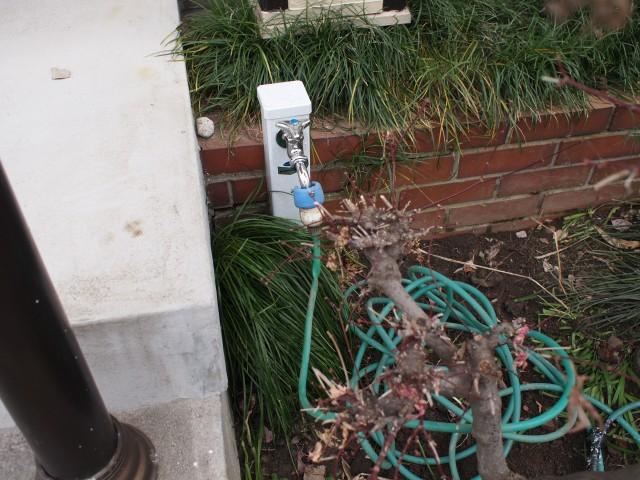 名古屋市中川区 水栓柱設置工事