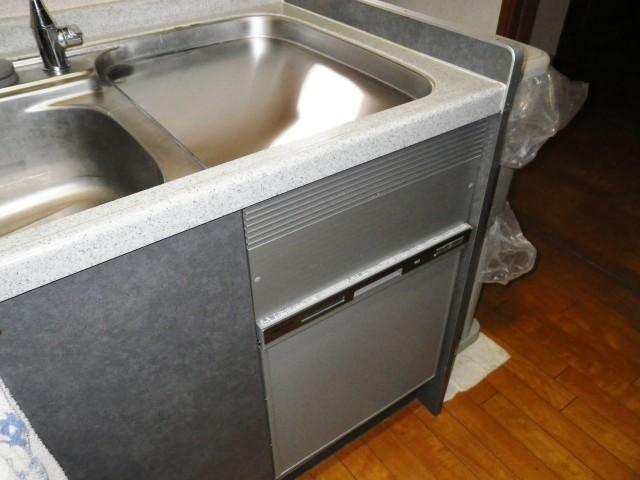 名古屋市南区 トップオープン食洗機取替工事