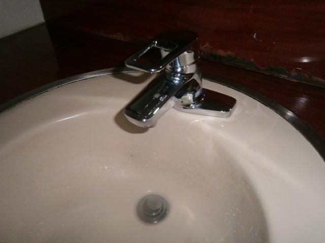 名古屋市西区 洗面水栓取替工事