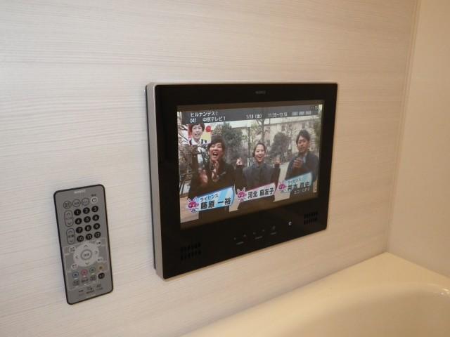 名古屋市中区 浴室テレビ新規取付工事