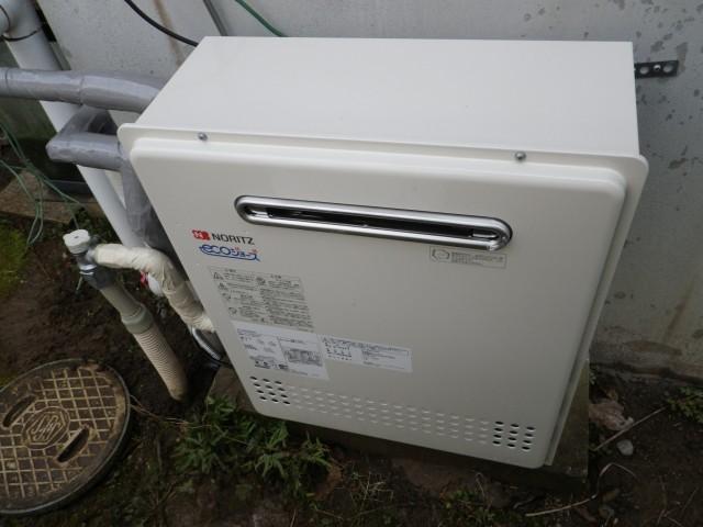 小牧市 ガス給湯器 交換工事