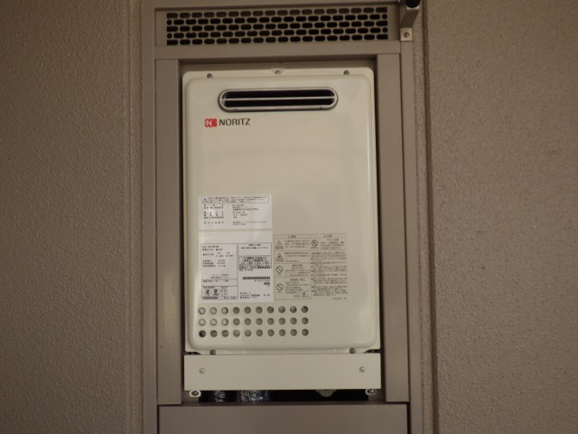 名古屋市中川区 ガス給湯器 交換工事
