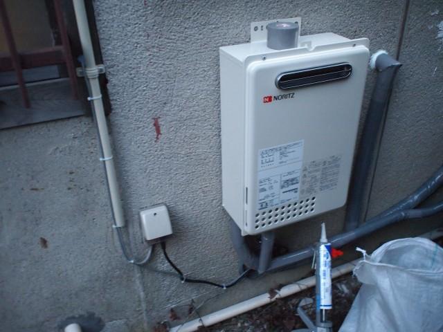 名古屋市守山区 給湯器取付工事