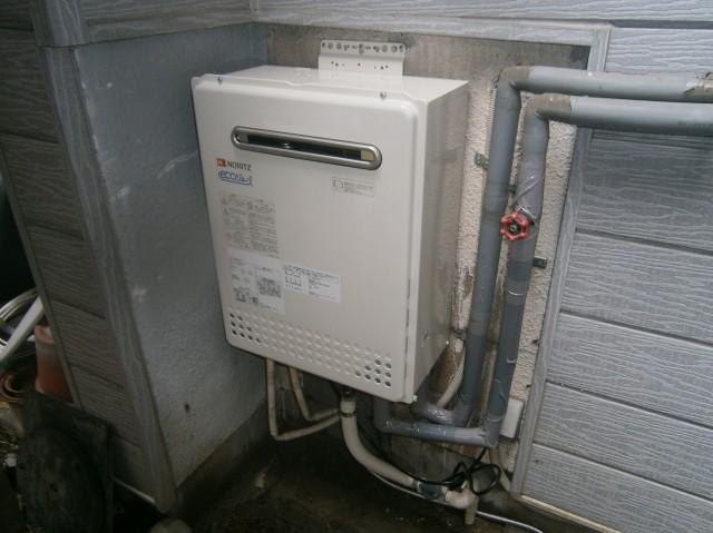 名古屋市西区 給湯器取替交換工事