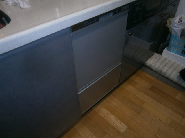 名古屋市東区 食洗機取替工事