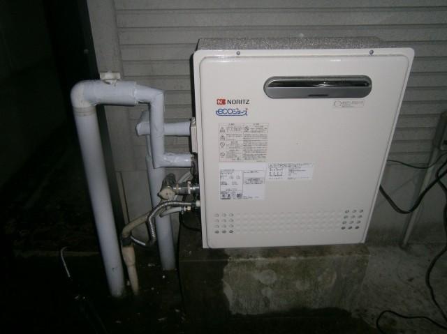 名古屋市昭和区 給湯器取替工事