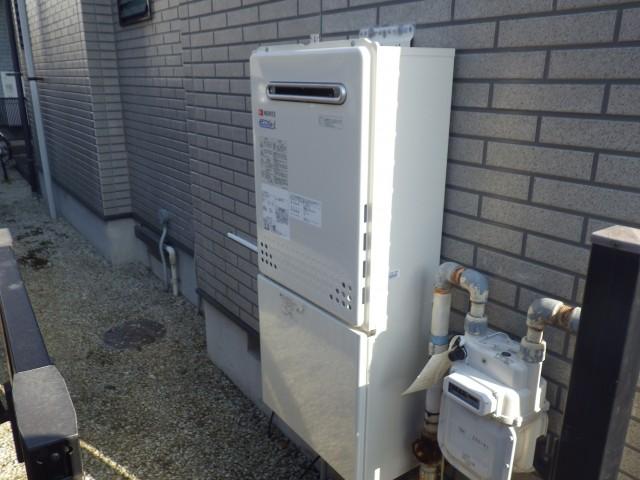名古屋市天白区 ガス給湯器交換工事