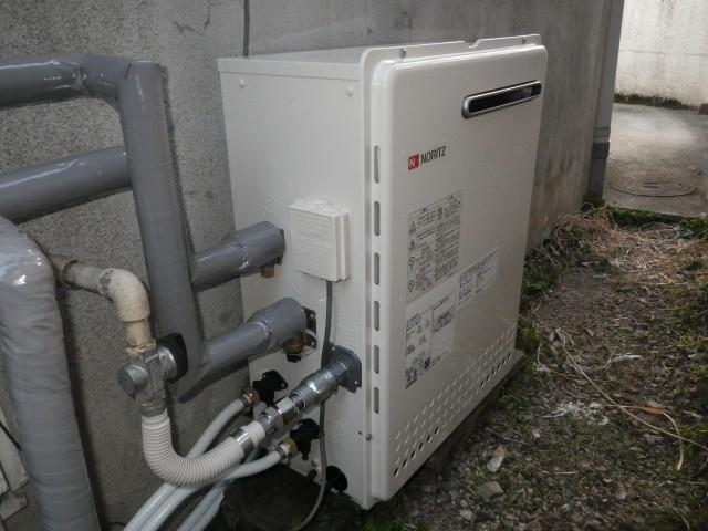 名古屋市西区 ガスふろ給湯器取替工事