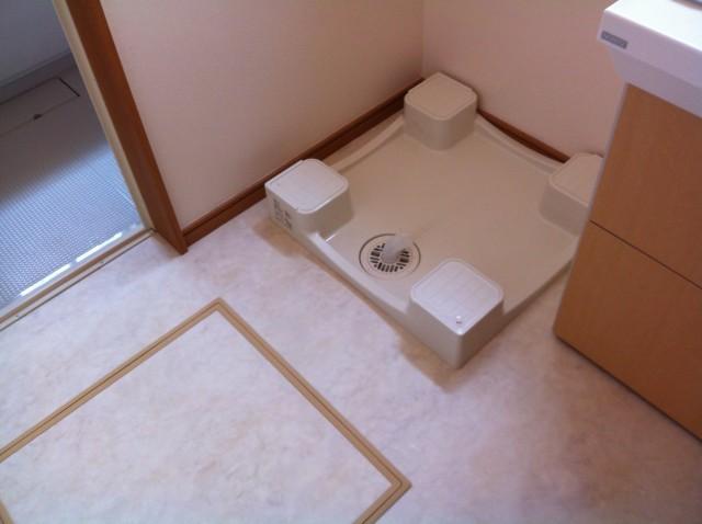 名古屋市守山区 洗濯機パン新設工事