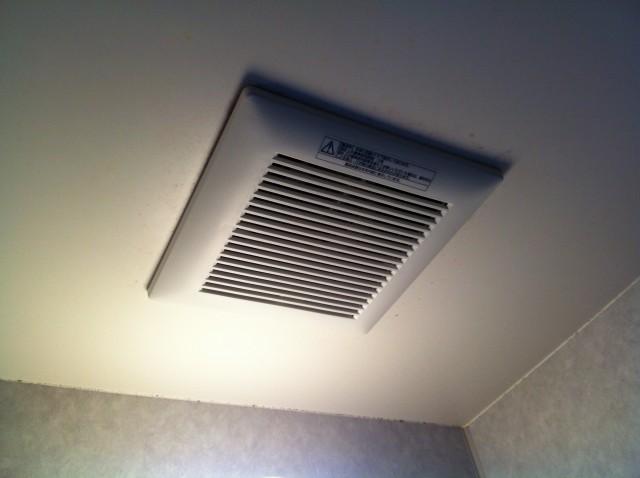 四日市市 浴室換気扇取替工事