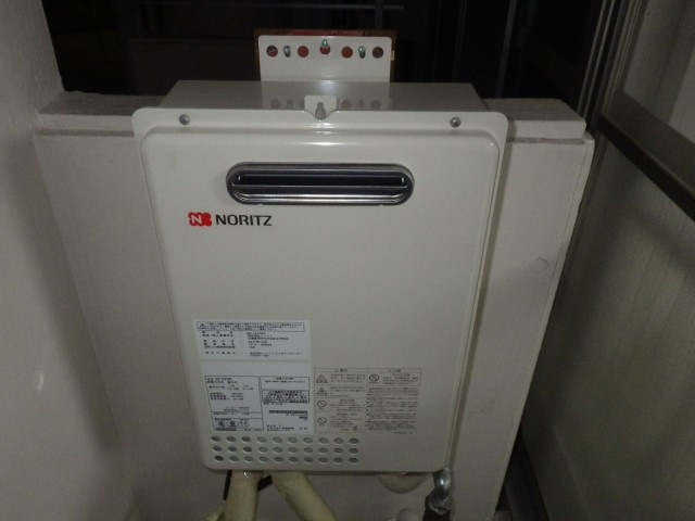 名古屋市昭和区 ガス給湯器取り替え工事