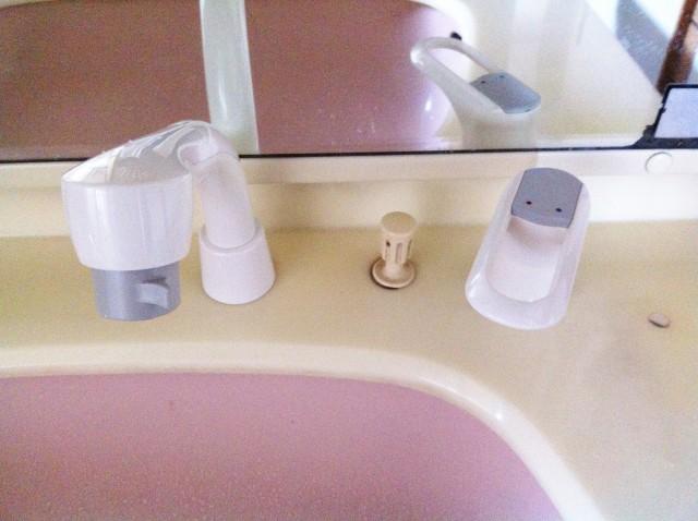 江南市 洗面水栓取替工事