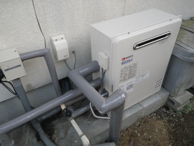 多治見市 ガスふろ給湯器取替工事