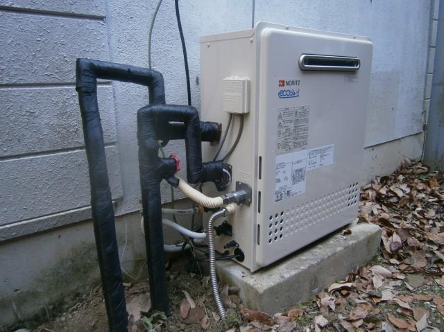 豊田市 ガスふろ給湯器取替工事