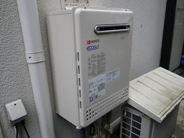 名古屋市千種区 ガスふろ給湯器取替工事