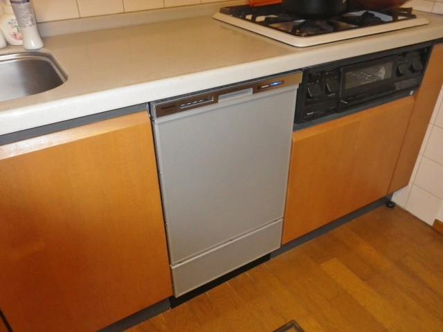 愛知県蒲郡市 ビルトイン食洗機新規取付工事
