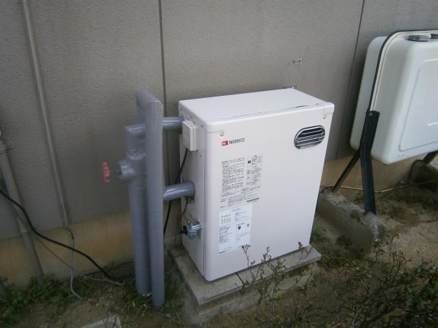 豊川市 石油給湯器取替工事