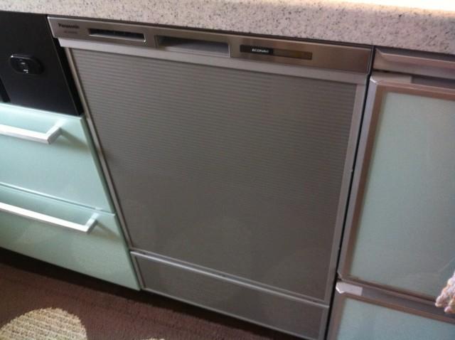 知多市 ビルトイン食洗機新規取付工事
