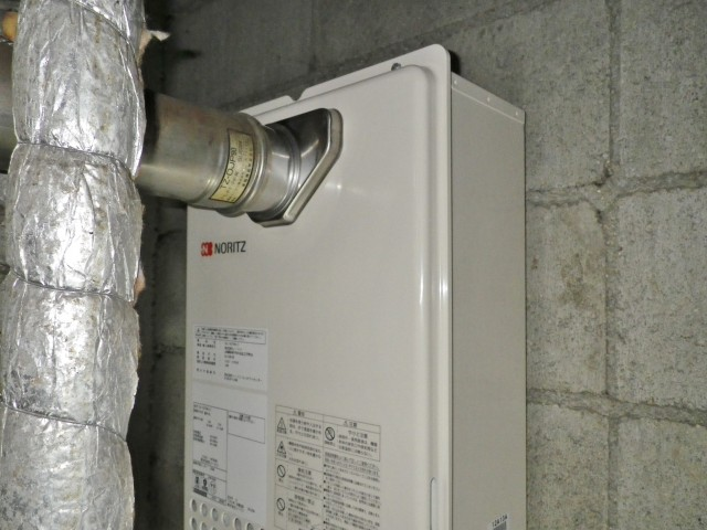 名古屋市中村区 ガス給湯器取替工事
