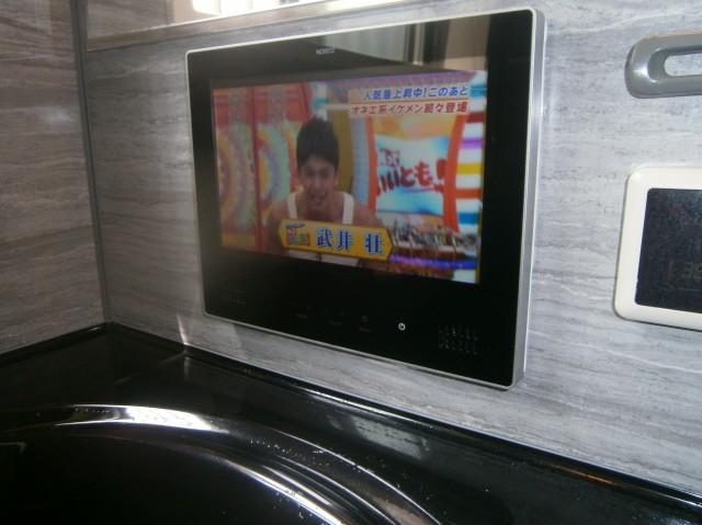 豊田市 浴室テレビ取替工事