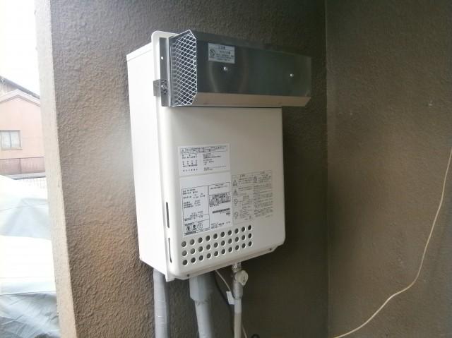 江南市 ガス給湯器取付工事