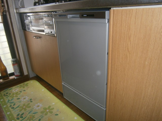 名古屋市中川区 食洗器取替工事