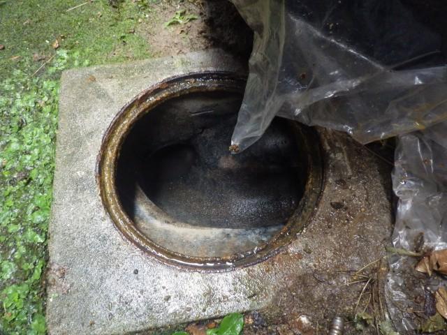 一宮市 汚水升・管高圧洗浄