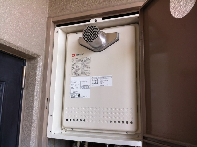 名古屋市熱田区 ガスふろ給湯器取替工事