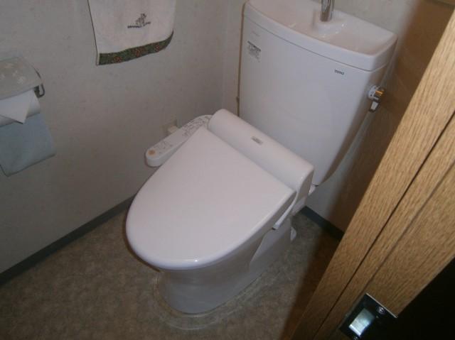 桑名市 トイレ取替工事