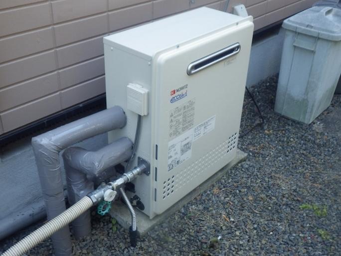 多治見市 ガス給湯器取替工事
