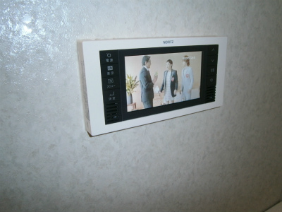 岩倉市 浴室テレビ取替工事