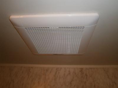 名古屋市港区 浴室換気扇取替工事
