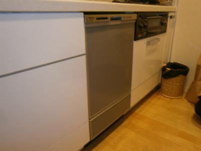 長久手市 食洗機取付工事