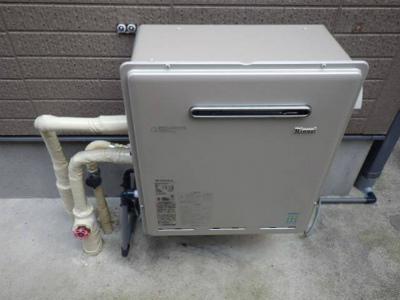 ガスふろ給湯器エコジョーズ取替工事