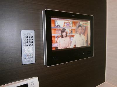 名古屋市港区 浴室テレビ新設工事